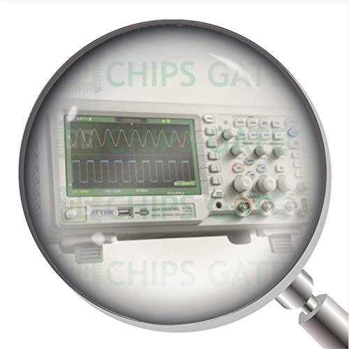 1 Osciloscopio de almacenamiento digital Atten ADS1062CML de 60 Mhz LCD de 7 pulgadas 50Gsa/S.
