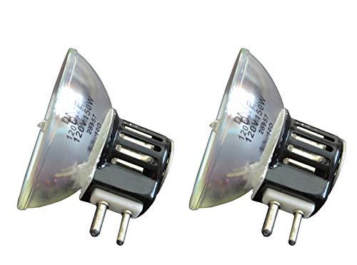 2pcs DNE 120V 150W Donar Bulb RM-120 for Bauer Projector Movie T4 8mm - GAF 2000S 3000S 3100S - Canimpex 120-150-99R - Caulk 64030190 Chinon 6100 6100Z 6000 7500 7000 7800 9000 9500 Sound 7500 Lamp