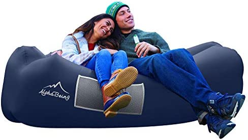 AlphaBeing Inflatable Lounger Best Air Lounger for Travelling Camping Hiking Ideal Inflatable product image