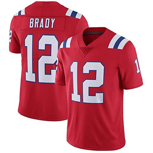 Li Largo Patriotas 12# 87# 11 Brady legendaria Segunda generación NFL Jersey (Color : 3, Size : M)