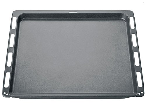 Bosch HEZ331072 Backofen- und Herdzubehör/Emailliertes Backblech für Kuchen, Plätzchen, Brot, Brötchen, Hefezopf und Stollen
