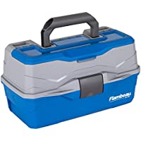 Flambeau Outdoors 6382TB 2-Tray Classic Tray Tackle Box