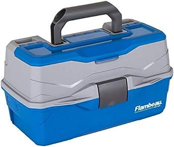 Flambeau Outdoors 6382TB 2-Tray Classic Tray Tackle Box