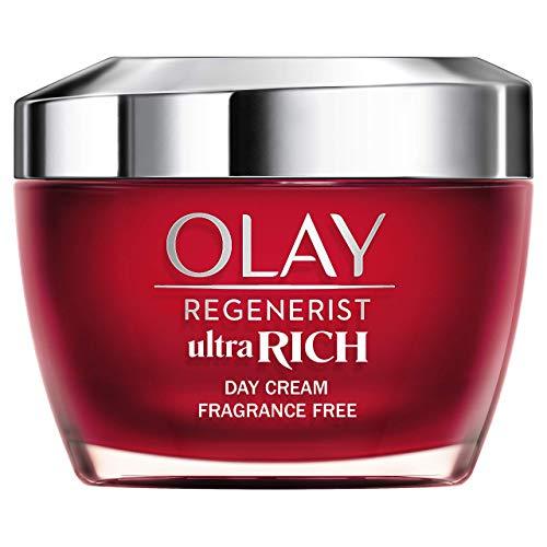 Olay Regenerist Ultra Rich Crema De Día, Textura Rica No Grasa, Con...