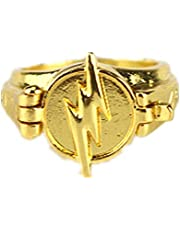 Reverse Flash Ring Open Cover Flash Lighting Logo Golden Ring Cosplay COSER