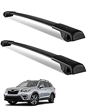 YITAMOTOR Roof Rack Cross Bars Compatible for 2014-2019 Subaru Forester / 2012-2019 Impreza with Side Rails Rooftop Luggage Cargo Bag Carrier Crossbars Bike