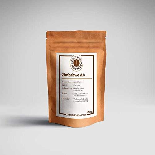 Cologne's Roastery Kaffeebohnen Röstkaffee ZIMBABWE AA 1000 Gramm Ganze Bohne Premium Qualität Meisterröstung Kaffeebohnen Manufaktur Handmade Luxuskaffee