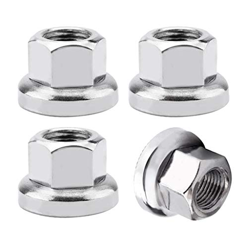 Harilla Track Nuts Bike Bicycle Wheel Axle Old for Rear Hub Hardware 4pcs