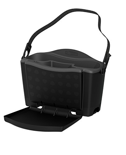 Rubbermaid Automotive Back Seat Organizer/Hanging Car Caddy with Folding Tray Table and Cup Holders