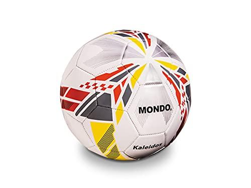 Mondo Sport 13996 - Balón de fútbol School 3, Talla 3, 260 g, Color Amarillo y Azul