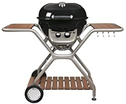 Outdoor Chef MONTREUX 570 G black BBQ gas grill ball grill, double burner, 18.127.74