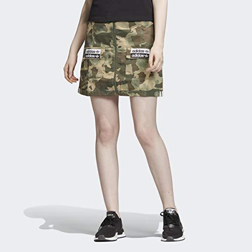 adidas Camo Minirock für Damen - Grün - Klein