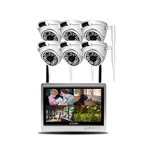 KTYX Wireless CCTV Cameras with Remote Monitoring 8-Channel Home...