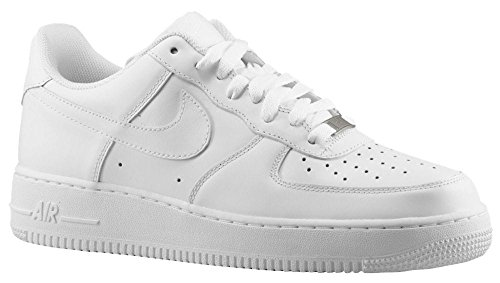 Nike Zapatillas deportivas unisex Air Force 1 '07., 111 wht Wht, 45 EU