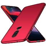 maxx OnePlus 6 Hülle, Hardcase Hartschale Handyhülle, Bumper Schutzhülle, Premium Handy Schutz passend für OnePlus 6, Rot (Doppelpack, 2 Stück)