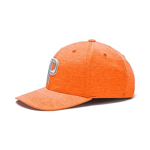 PUMA Golf 2020 Men's P Hat (Men's, Vibrant Orange,One Size)