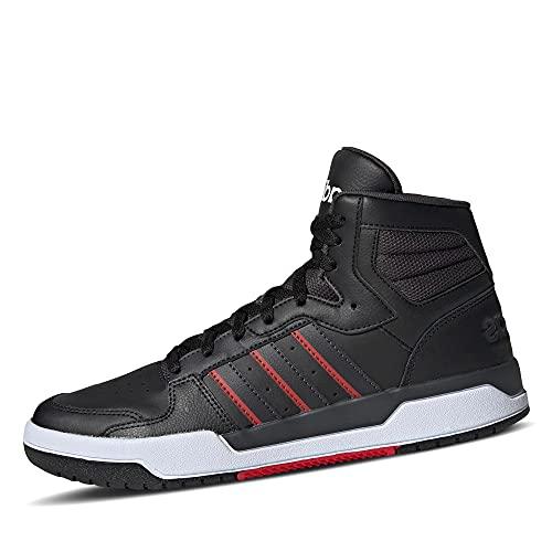 adidas Herren ENTRAP MID Sneaker, Mehrfarbig Negbás Carbon Ftwbla, 42 EU
