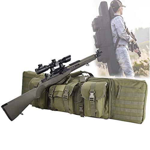 Bolsa de Pistola de Rifle Bolsa de Almacenamiento de Rifle Gun Rifle Bolsa con Capacidad para Dos Rifles para Escalada, Pesca, Camping, Caza, 120cm