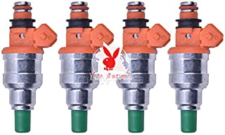 yise-C830 New 4PCs Fuel Injector INP-020 INP020 For Mitsubishi Lancer Evo 5-9 Ralliart FQ MDL560 560cc Petrol Gasoline Car...