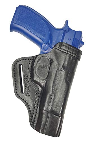 VlaMiTex B3 Leder Pistolenholster Gürtel Holster für CZ 75 B