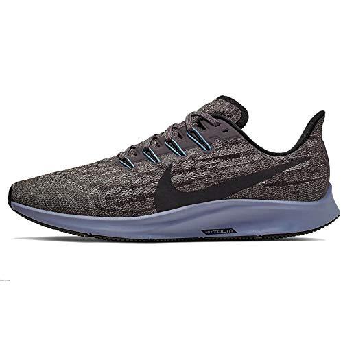 Nike Herren AIR Zoom Pegasus 36 Traillaufschuhe, Mehrfarbig (Thunder Grey/Black-Pumice-Stellar Indigo 008), 44.5 EU