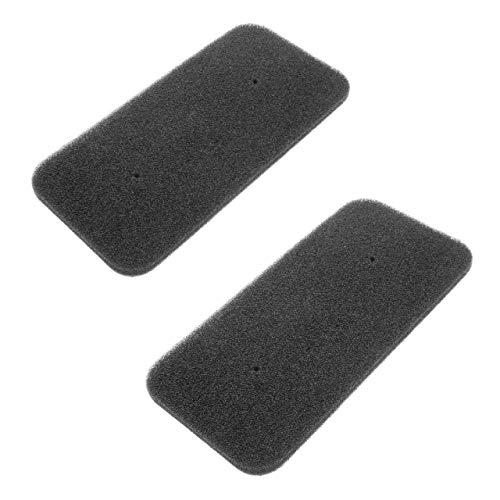 vhbw Set de filtros (2x filtro de esponja) compatible con Candy CS H10A2DE-S 31100933, CS H7A2DE-S 31100925 secadoras de ropa