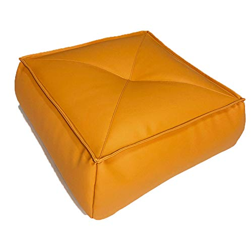 Chair Cushions Indoor Cushions with Zipper Cowhide Fiber Waterproof Odorless Fashion Meditation Cushions for Office Patio Furniture Chairs Home Garden Meditation Yoga Coffee