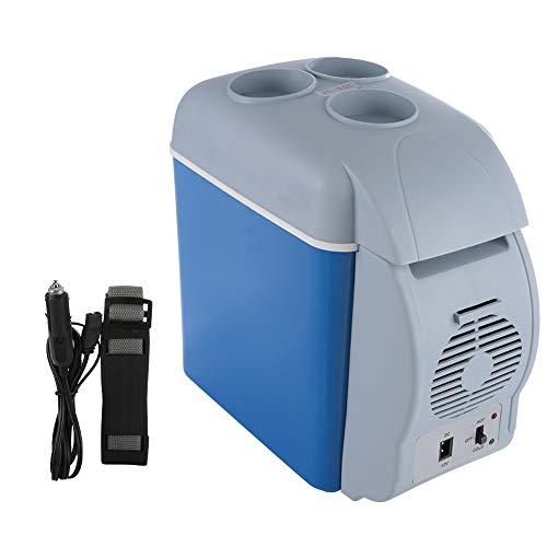 Viferr Koelkast voor auto, mini-koelkast, elektrische flessenwarmers, reizen, diepvrieskast, 12 V, 7,5 l, voor camping thuis