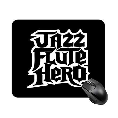 Anchorman Jazz Flute Hero Guitar Hero Alfombrilla de mesa antideslizante de alta velocidad para juegos, Alfombrilla de ratón cuadrada con base de goma para oficina, Alfombrilla de escritorio pequeña p