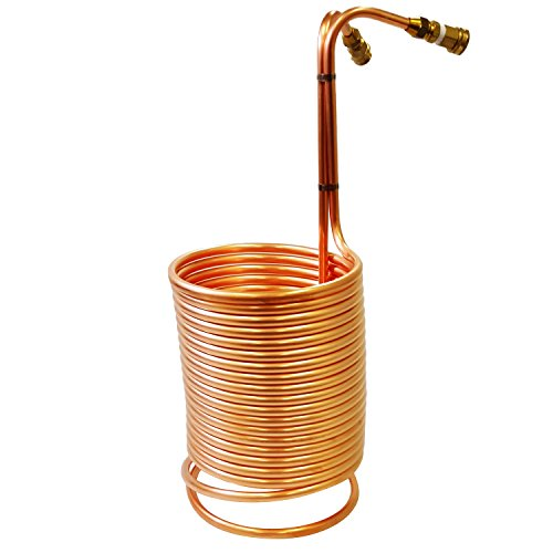 NY Brew Supply copper wort chiller, 1/2