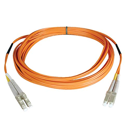 Tripp Lite Duplex Multimode 62.5/125 Fiber Patch Cable (LC/LC), 1M (3-ft.)(N320-01M)