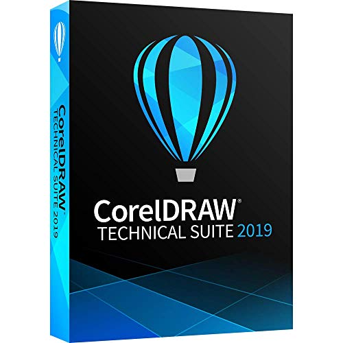 CorelDRAW Technical Suite 2019 - Technical Illustration and Drafting Software [PC Disc]