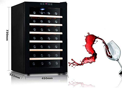 Car refrigerator-28 bottle thermoelectric wine cabinet-red and white wine cabinet digital control/stand-alone refrigerator