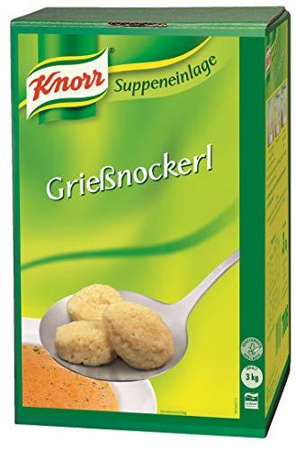 Knorr Grießnockerl (flaumig, lockere Grießnockerl) 1er Pack (1 x 3 kg)