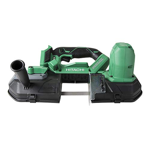 """Hitachi CB18DBLP4 Cordless 18V Lithium Ion Brushless 3-1/4"""" Band Saw (Tool Only, No Battery)"""