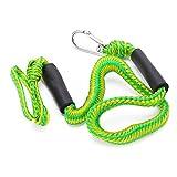 Líneas De Muelle Elásticas para Botes, Conveniente Cuerda De Amarre Durable 2 (T) Fuerza De Tracción para Amarrar Kayaks para Amarrar Botes