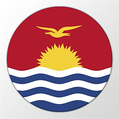 Kühlschrank Magnet Kiribati Flagge Ozeanien Inselrepublik Magnettafel Whiteboard