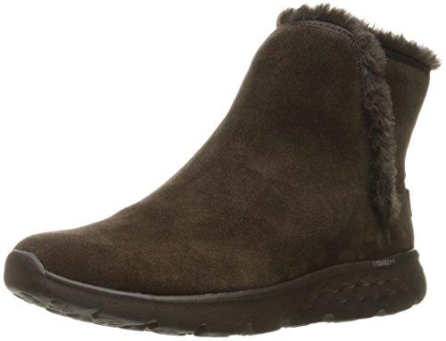Skechers Damen On-The-Go 400-Blaze Winterstiefel, Schokoladenbraun, 36.5 EU