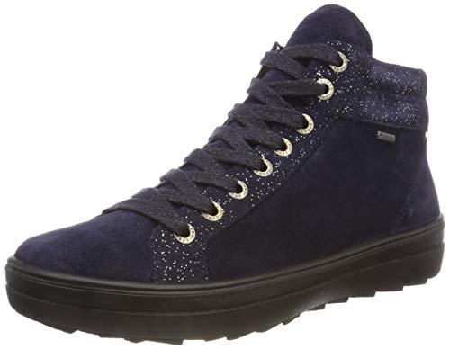 Legero Damen Mira Hohe Sneaker, Blau (Blue 82), 38 EU (5 UK)