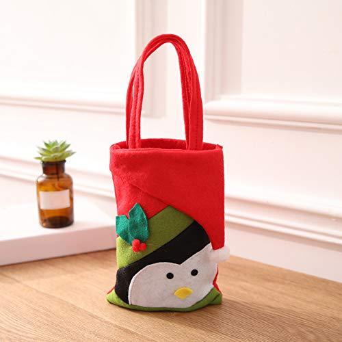 ASOSMOS Candy Gift Bag Handtasche Beutel Dekoration Durable Wiederverwendbar Für Chrismas Party Verpackung