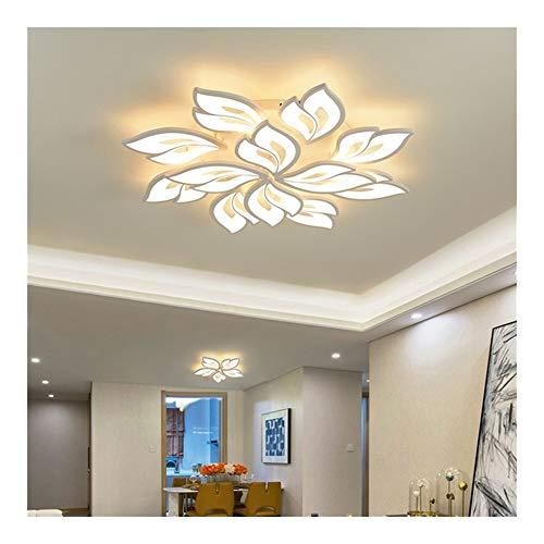 Moderna lámpara de araña anillo llevado salón comedor dormitorio función de memoria lámpara LED de techo llevada accesorio de iluminación de la lámpara. (Color : APP with RC dimmable)