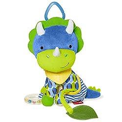 1. Skip Hop Bandana Buddies Baby Activity and Teething Toy