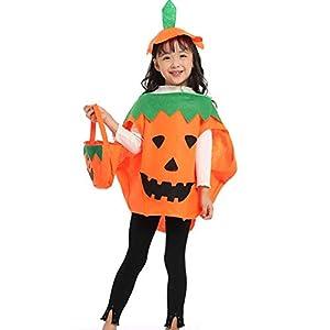 Peicci - Disfraz de Calabaza de Halloween para niños con Sombrero ...