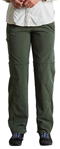ExOfficio Women's BugsAway Sol Cool Ampario Convertible Hiking Pants - Standard - Nordic, Size 8