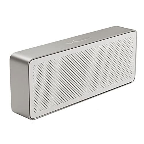 KDLK Altavoz Bluetooth Square Box 2 Estéreo Portátil Inalámbrico Bluetooth 4.2 HD Calidad de Sonido de Alta definición Reproducción