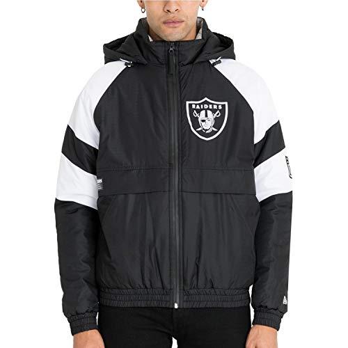 New Era NFL OAKLAND RAIDERS Puffer Jacket, Größe:M
