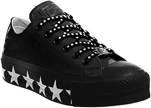 Converse x Miley Cyrus Chuck Taylor All Star Ox Black Stars (6 US Women)