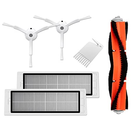 Main Brush Filters Side Brushes Accessories For XIAOMI MI Robot S50 S51 Vacuum