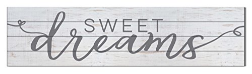 "Kindred Hearts 40""x10"" Sweet Dreams Shiplap Wall Sign"