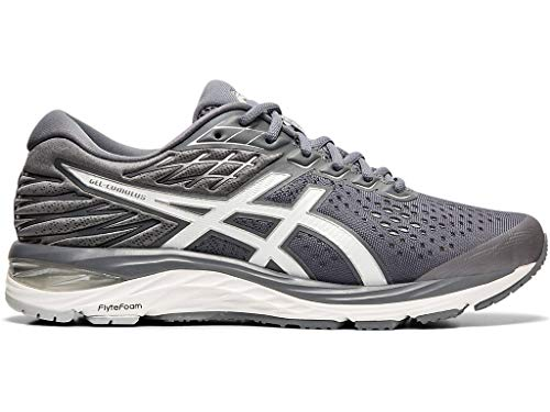 ASICS Men's Gel-Cumulus 21 Running Shoes, 12XW, Metropolis/White